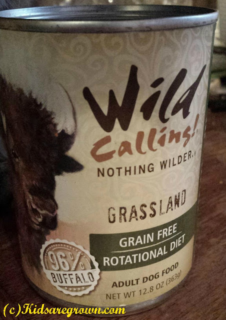 Wild Calling Grassland Buffalo Dog Food