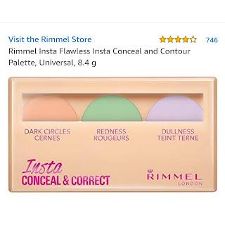 คอนซีลเลอร์ ริมเมล insta concealer and Correct Rimmel London