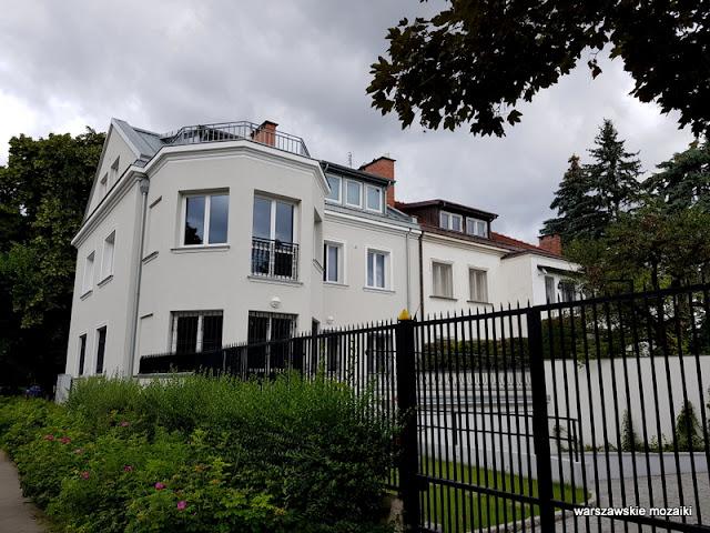 Warszawa Warsaw Żoliborz Oficerski architektura architecture wille przedwojenne