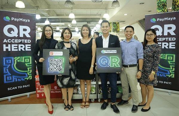 PayMaya QR Now Available At Robinson's Retail Holdings