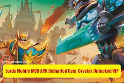Lords Mobile Mod Apk VIP 15 Auto Battle v2.53 Update Terbaru 2021 Gratis!