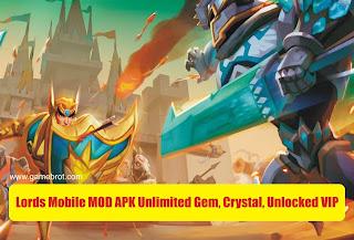 Lords Mobile Mod Apk VIP 15 Auto Battle