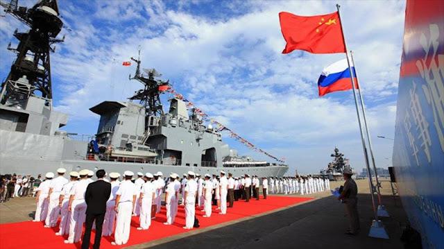 EEUU, alarmado por cooperación militar entre China y Rusia