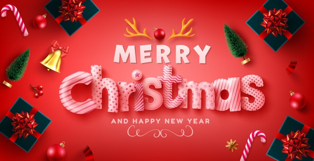 Happy Christmas wishes in 2020