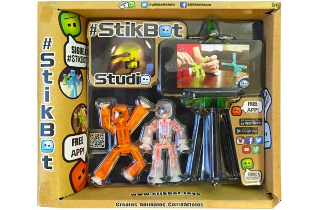 Stickbot studio animations - unique and fun gift ideas for kids