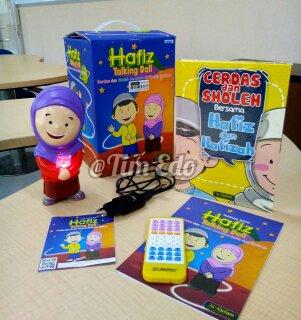 Hafiz Hafizah Talking Doll Al Qolam