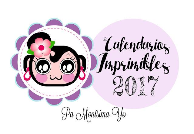 Calendario 2017 freebie