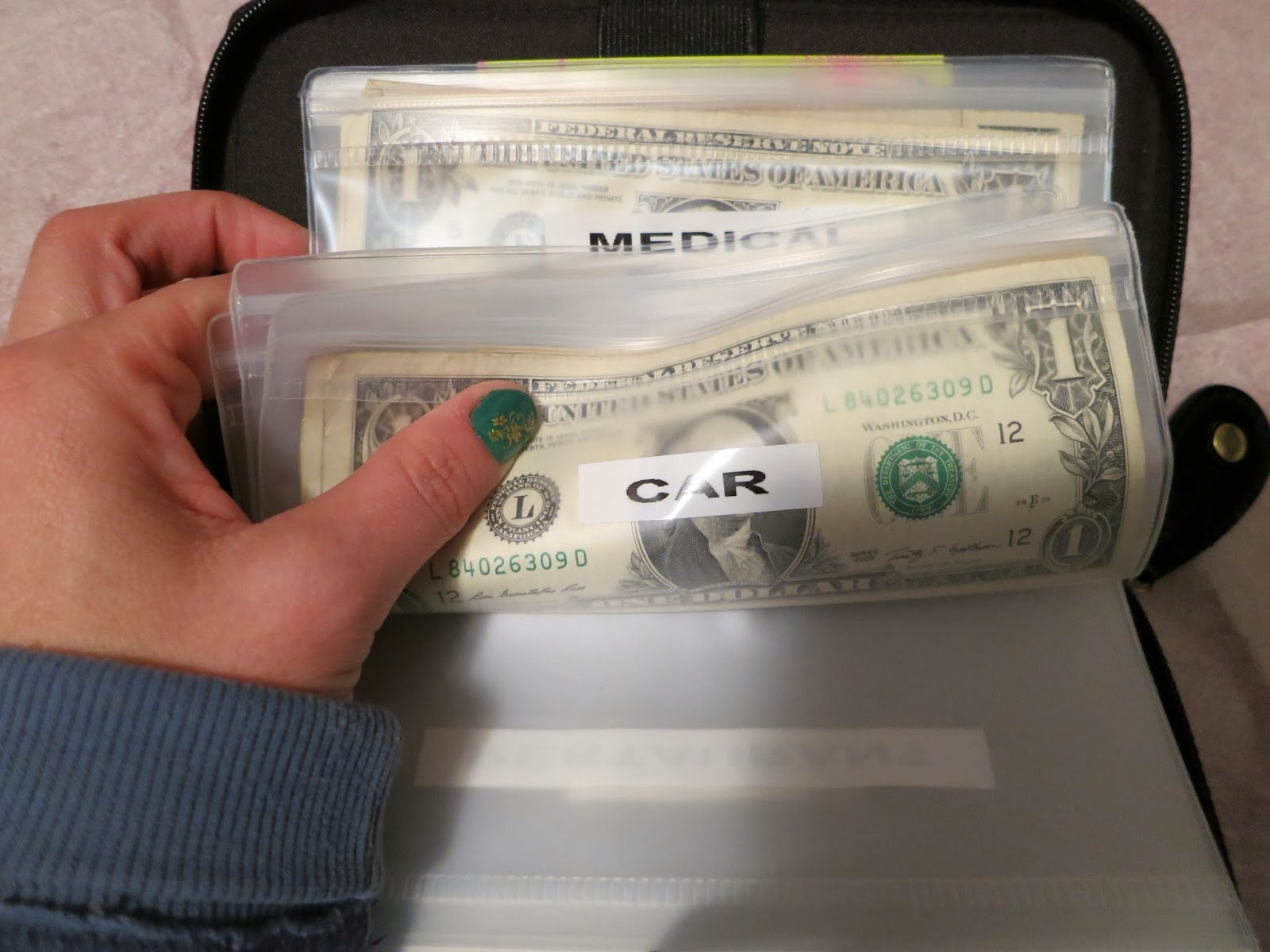 Ask Away My Filofax Budget Envelope System