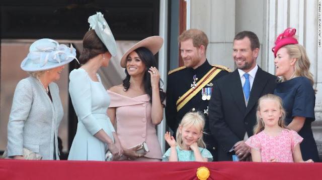 خبر طلاق حفيد الملكة إليزابيث .