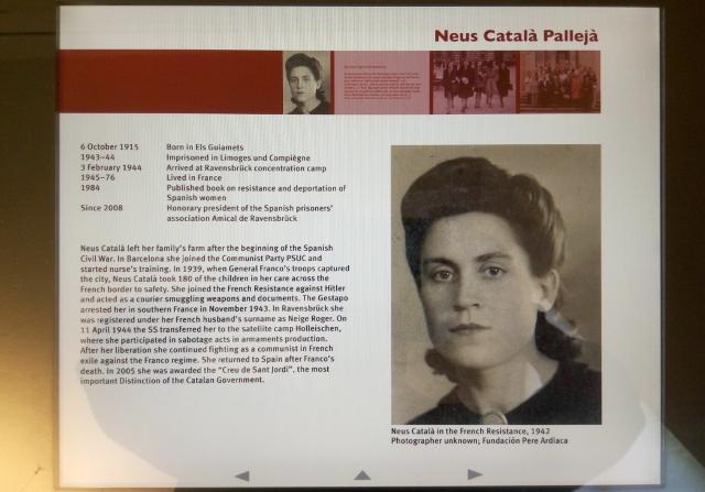 neus, una lluitadora catalana