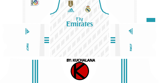 Dls 18 Kits Real Madrid