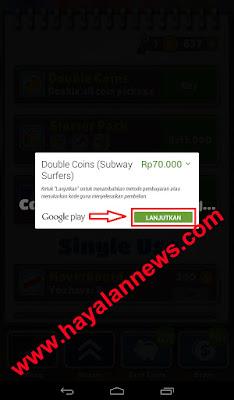 Begini cara baru dapat koin (double coins) subway surfers gratis