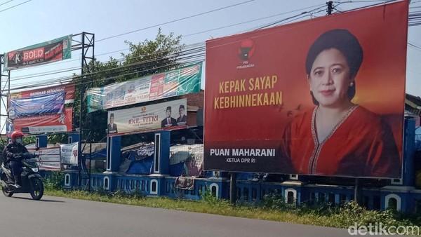 Ternyata! Puluhan Baliho Politisi di Klaten Tak Kantongi Izin