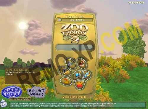 This article is about the original expansion packs made by Blue Fang. For fan- made ... There are four official expansion packs for Zoo Tycoon 2, a mini pack  and two compilations. ... Marine Mania (Blue Fang) ZT2 Download Library Wiki.