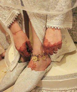 photo henné marocain pour mariée france