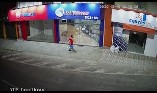 Loja da empresa LM Telecom e assaltada em Guarabira veja o vídeo