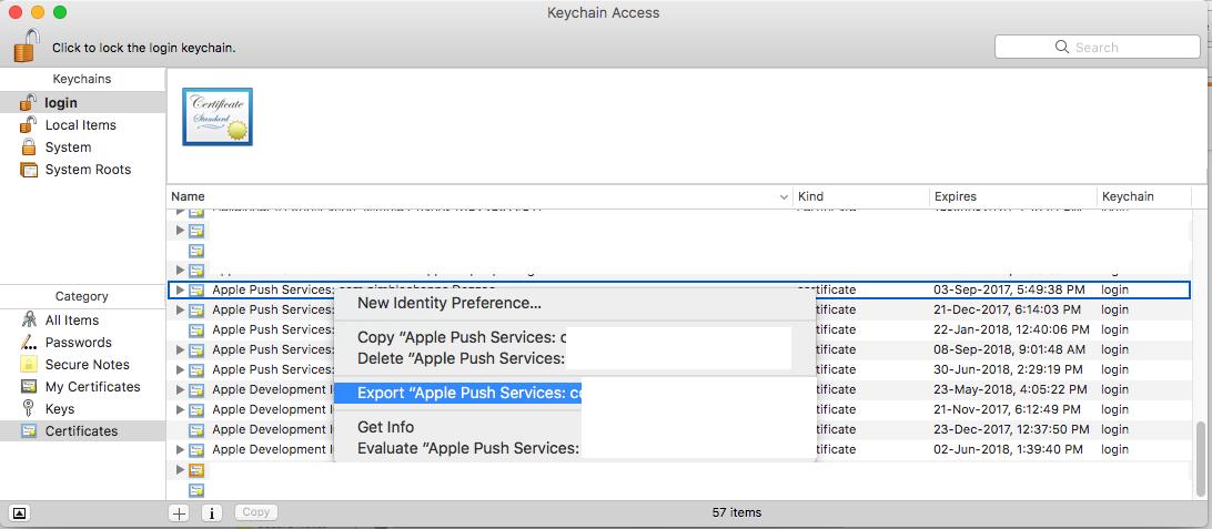 How To Create .pem File for APNS - iOS. - iOSDevCenter