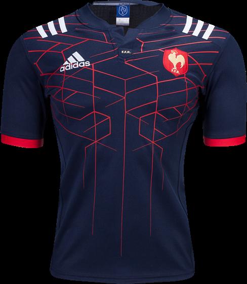 2525785db2839 ... da França usará na temporada 2016 17. O modelo é predominantemente azul  marinho com linhas geométricas em vermelho. A cor também aparece nos punhos  das ...