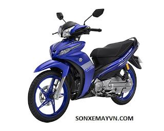Bán Sơn xe máy YAMAHA JUPITER màu xanh