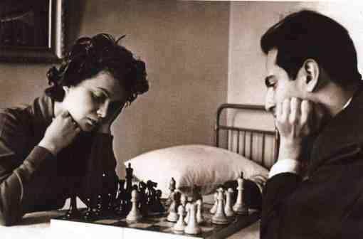 Salli Landau, la première épouse de Mikhail Tal.