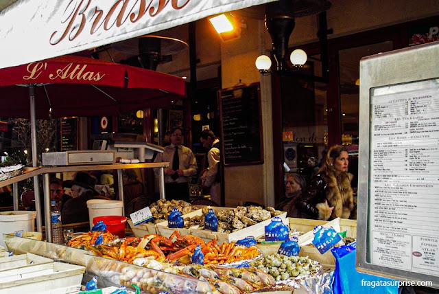 Brasserie em Saint-Germain-de-Prés, Paris