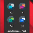 AutoResponder Pack For (WA,FB,IG,TG) vAugust 2020 [Mod] Apk