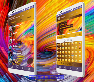 Colorful Theme For YOWhatsApp & Fouad WhatsApp By DJ