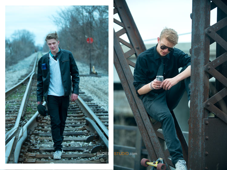 Stylish Senior Pictures for Guys - Toldedo Ohio - Sudeep Studio.com