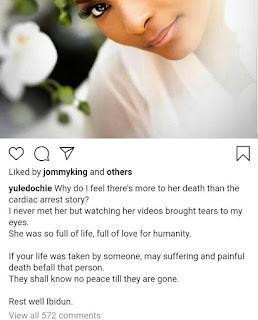 Yul Edochie's post about Ibidun Ajayi-Ighodalo