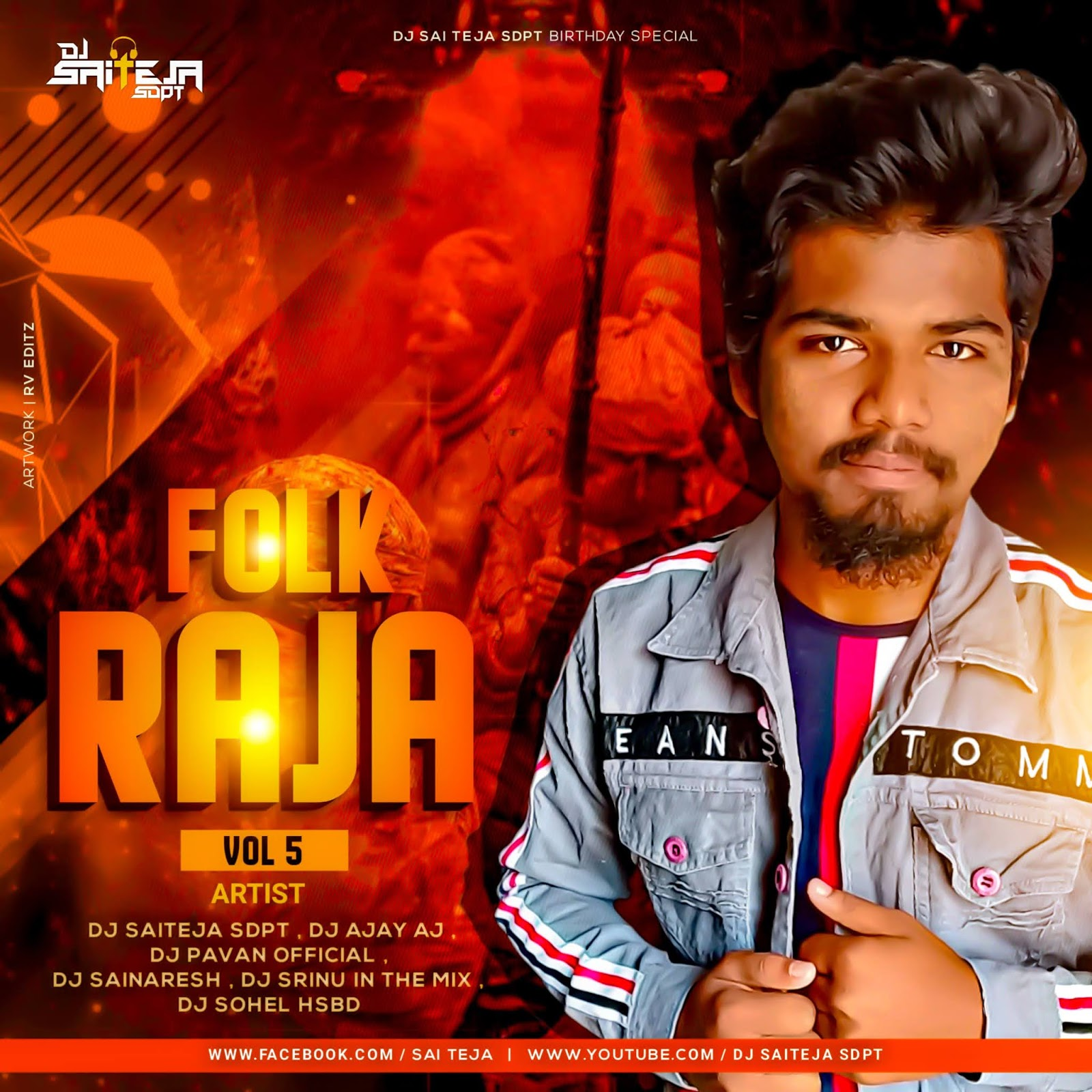 FOLK RAJA VOL 5 - DJ SAI TEJA SDPT [NEWDJSWORLD.IN]