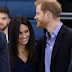 Meghan Markle today visited Loughborough University with Prince Harry for an awards ceremony for apprentice sports coaches