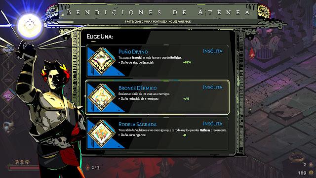 Análisis de Hades - Bendiciones de Atenea