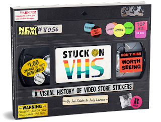 VHS sticker book