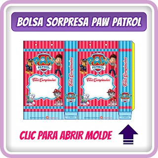 Caja Sorpresa de Paw Patrol para Fiesta de Niño