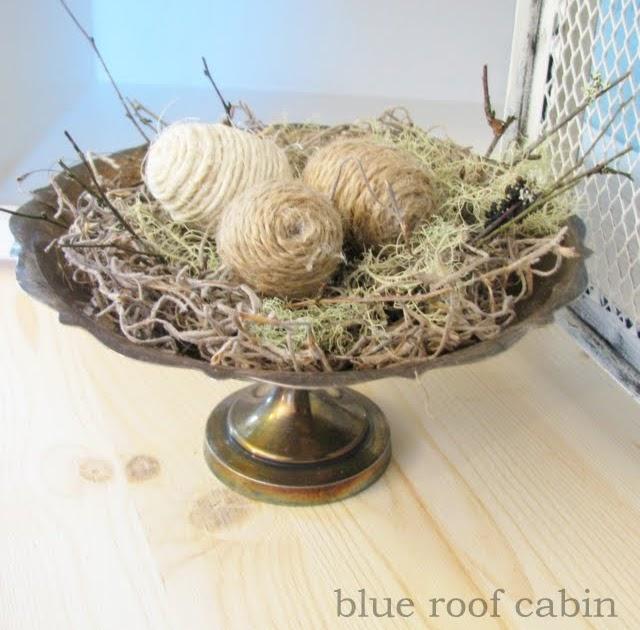 Blue Roof Cabin Spring Craftingness