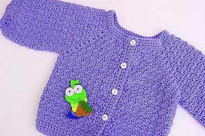 7 - Crochet Imagen Chaqueta a crochet con puntada de arroz muy fácil y sencillo por Majovel Crochet
