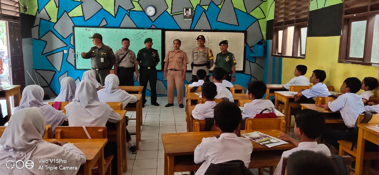 Kapolsek Pakuhaji Beri Himbauan, Pelajar Tidak Ikutan Unras Ke DPR RI