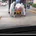 Captan llegada de paciente con Coronavirus al Hospital 194 de Naucalpan.