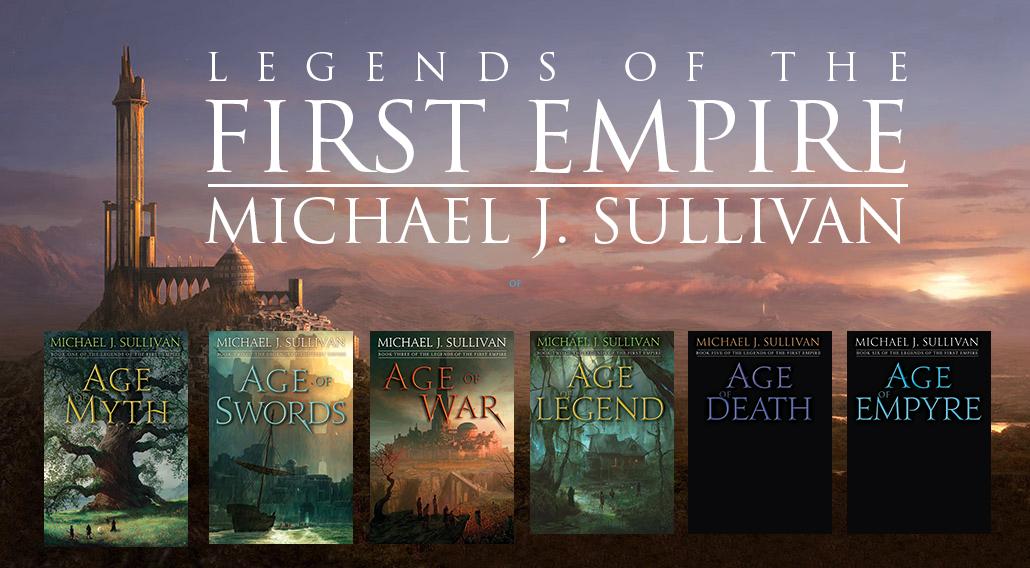 Author Michael J  Sullivan's Official Website: Series