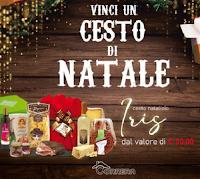 """Vinci gratis un Cesto di Natale """"Iris"""" ricco di prodotti alimentari del valore di 50 euro"""