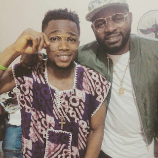 Falz with Eddie Romie