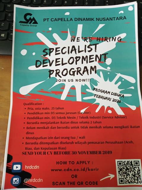 Informasi Lowongan Kerja Terbaru Medan November 2019 D3 Segala Jurusan