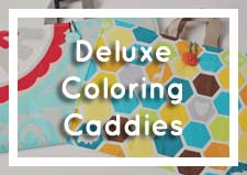 Deluxe Coloring Caddies