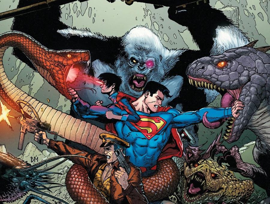 superman and superboy dc comics