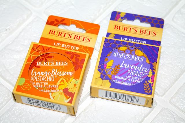Burt's Bees Moisturising Lip Butters