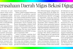 Bekasi Oil and Gas Company was Sued