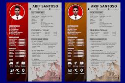 Contoh CV Lamaran Kerja Yang Baik dan Kreatif - Design #36