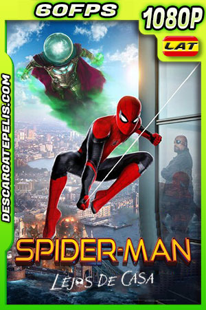 Spider-Man: Lejos de casa (2019) 1080p BDrip 60fps Latino – Ingles
