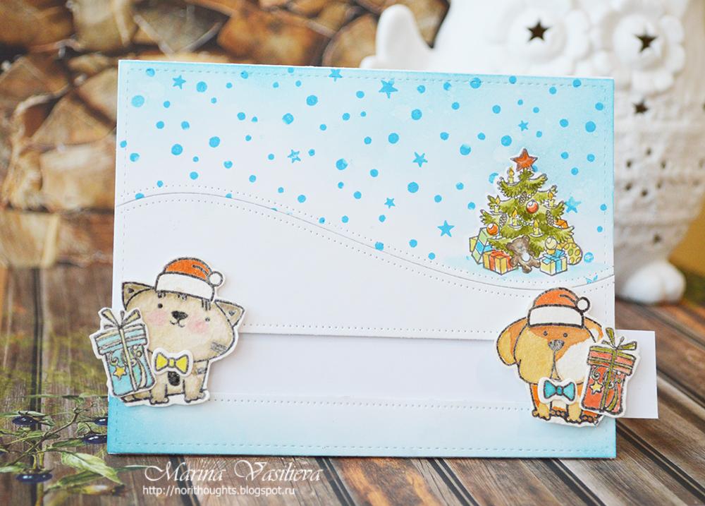 Новый год, открытки слайдер