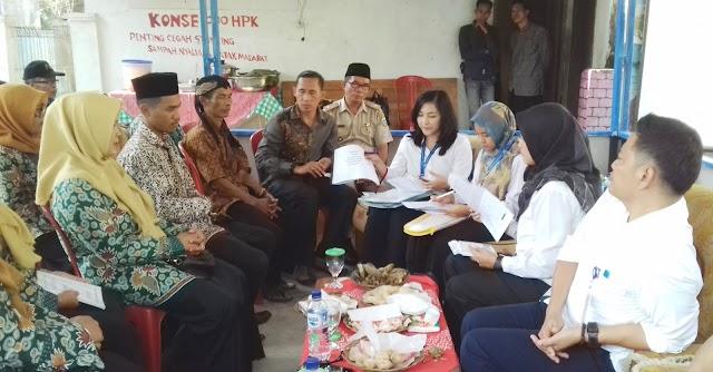 Tim Rechecking Penilaian Kampung KB Tingkat Propinsi Jabar Kunjungi Kampung KB Sukamulya Desa Cileuleus